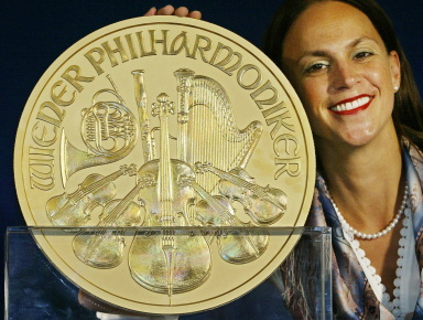Financial Cryptography: Austria issues 100,000 Euro coin