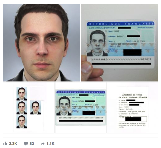 Is it illegal to make a fake identity